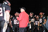 QO vs Linganore. After losing to Linganore 19-0 Coach Dave Mencarini teaches QO's Football team on how to leave their home field with class and respect deserving of county champions.