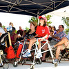 Miracle League Players and parents were scatter among the audience.