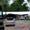 Over 260 buses from around the Mid-Atlantic shuttled US Open attendees from staging areas like that at Crown Farm in Gaithersburg