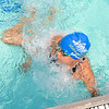 Allstar Swimmer - Kentland's Olivia French turns at the wall