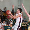 Ben Kelly turns up the game against Seneca Valley with his driving layup in the 4th quarter