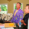 South Frederick Rotary Club - Road Ralley.  Tom Kozlowski with volunteers Jamie Constable and Ed Kozlowski.