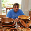 Tim Aley and his woodwork