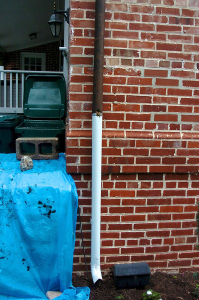 Copper pipe thieves struck the Kentlands Mansion, homes in the surrounding neighborhood and also retail locations along Main Street nearst to the Giant.