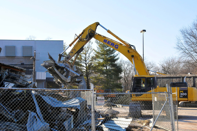 Making way for LA Fitness