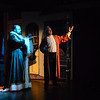 """The Sandy Spring Theatre Group presents """"Scrooge - The Musical"""" at the Arts Barn.  Featuring Jim Eustice as the Ghost of Christmas Present, Bob Schwartz as Scrooge and presenting Clara Harney as Tiny Tim"""