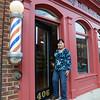 Linda Tran, barber at Family Barber Shop