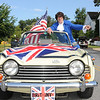 4th of July Parade in the Kentlands celebrating  its 25th anniversary.