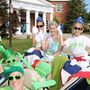 4th of July Parade in the Kentlands celebrating  its 25th anniversary.<br /> <br /> PEAS Float with Marty Horan - Most Creative<br /> <br /> Includes the following PEA PODS - Back row - L-R - Emma Hinkely, Alexandra Mason, Annika Gratrix, in the car is - Jack, Ian, and Tre Artino.  Behind the wheel is Marty Horan.