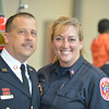 Grand Opening and Dedication Ceremony - Travilah Fire Station #32 in Rockville MD <br /> <br /> Captain Gartner and his wife