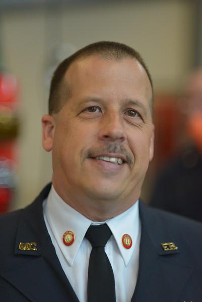 Grand Opening and Dedication Ceremony - Travilah Fire Station #32 in Rockville MD <br /> <br /> HOT SPOT  Captain Tom Gartner