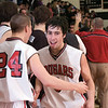 QO vs Blake QO vs Blake.  A satisfied Steve Everett celebrates with Kentland's Alex Griffith with QO's win over 3A rival Blake.