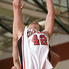 QO v Poolesville Home. Ryan Sigelmann goes up strong for a layup in the QO's first half against Poolesville
