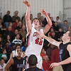 QO vs Blake QO vs Blake.  Riley Sigelmann drives in for a jump shot against Blake.  QO beat their 3A rival Blake.