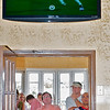 Summer 2010. World Cup Soccer fans packed Tony & James to watch USA vs Ghana in playoff action.  The second floor dining area was packed with both family and children who gathered  to watch the agame