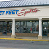 Fleet Feet's new location in the Giant shopping mall.