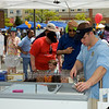 Kentland Days - May 1.  Food vendors provided many choices including ways to cool off for the Kentland Day crowd.