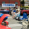Kentland Days - May 1.  Criswell Chevrolet a sponser of Kentland Days dedicated a section for local car buffs to display their sports cars.