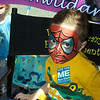 "Kentland Days - May 1.  ""Spiderman""  Palmer is caught in the moment at the Kentland Days makeup artist tent."