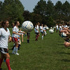Fall Sports - QO 2010 to 2011. QO Girls soccer team begins Fall season practice at nearby Aberdeen Park.