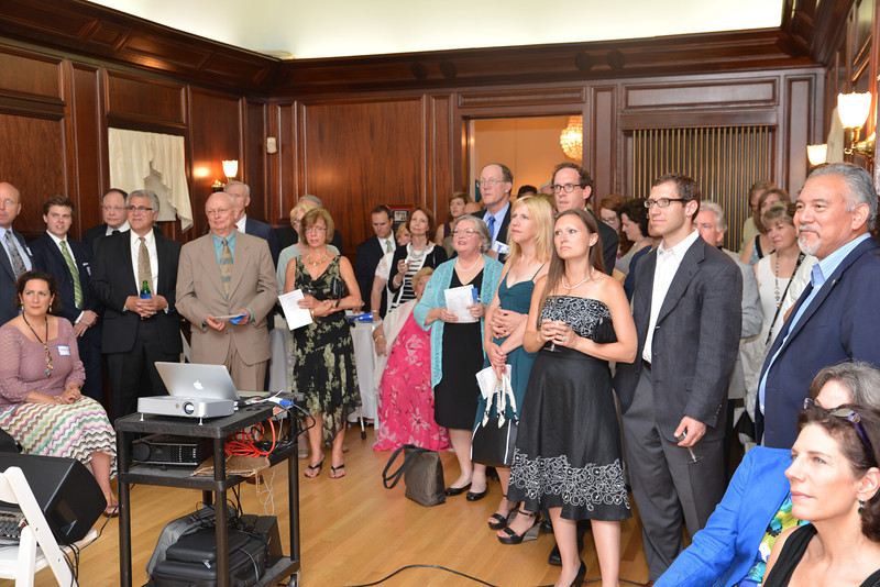 25 years since the Kentlands charrette - is being celebrated by featured conversations in the Kentlands Mansion and an Arts Barn Concert Program .  This is the first of 25 events which will culmuniate with an Anniversary celebration in February 2016.