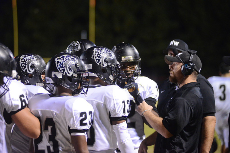 Northwest versus Quince Orchard - upset win by NW 35 to 21 over QO<br /> <br /> Featured here is -