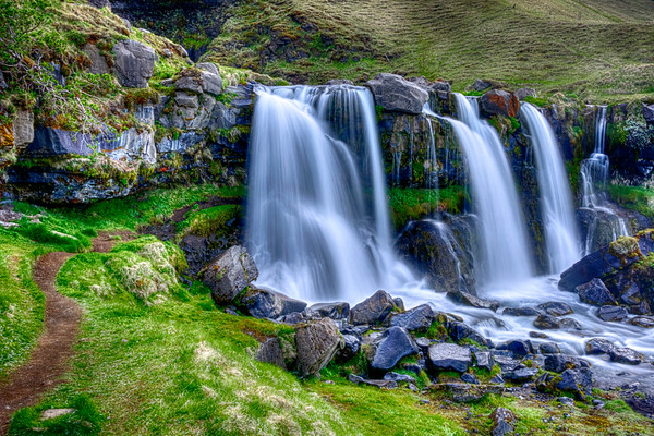 Gluggafoss in Iceland