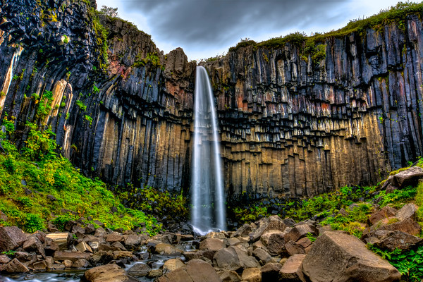 Svartifoss (The Black Waterfall)