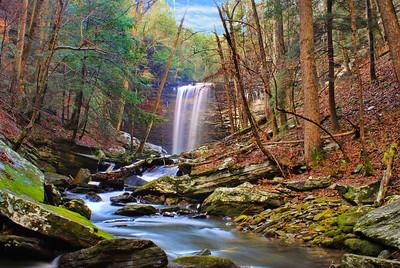 Lower Piney Falls