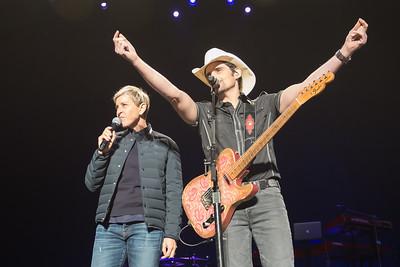 Brad Paisley/Ellen DeGeneres Benefit for the Montecito Mudslide Victims