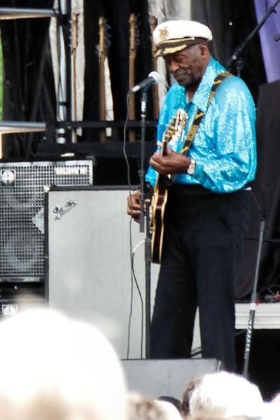 Chuck Berry 9/15/2007 Nomahegan Park, Cranford NJ