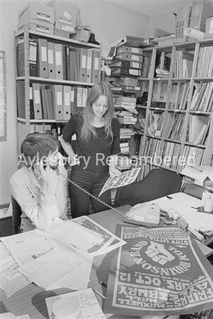 Friars Club Office, Oct 11th 1978