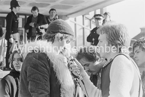 Queue for Genesis tickets, Feb 14th 1980