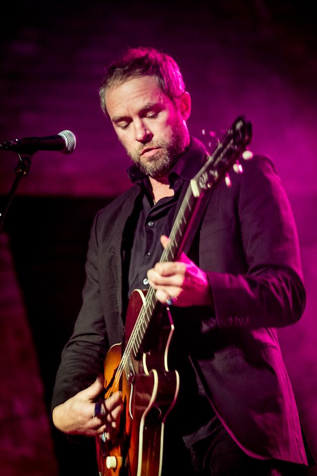 Duke Garwood performs onstage at Boiler Shop on 30.11.17