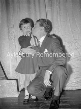 Bert Weedon, back stage at Granada, April 25 1961