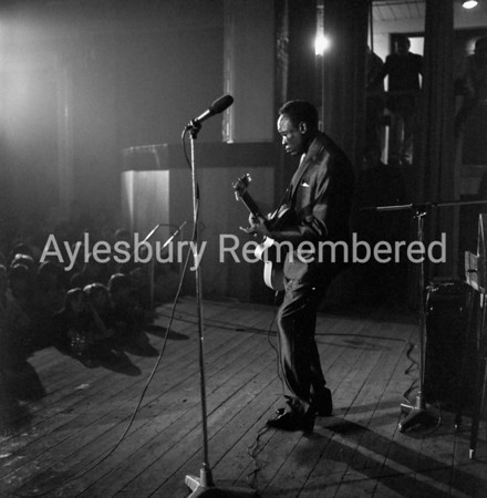 John Lee Hooker at Borough Assembly Hall, June 17 1964