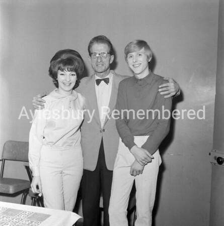 Shirley & Johnny with Eddie Friday, Apr 16th 1965