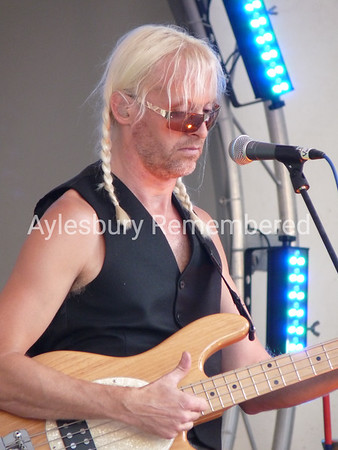 Nick Beggs with Kajagoogoo, Aug 23 2009