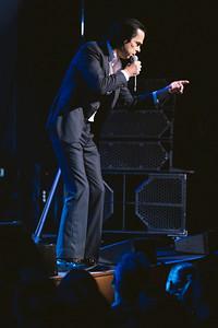 24th September 2021 - Gateshead, UK: Nick Cave and Warren Ellis perform at Sage Gateshead.