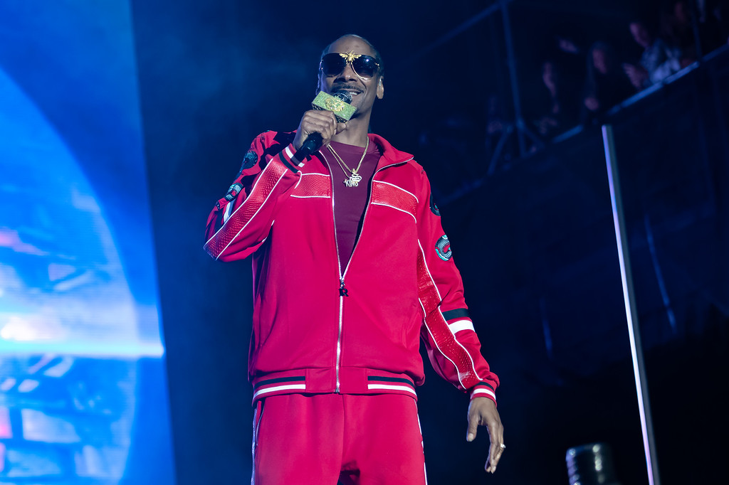 Snoop Dogg performing at Bottlerock