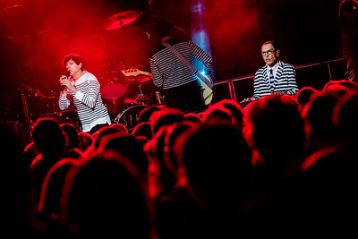 Sparks perform onstage at The Boiler Shop in Newcastle on 19.09.17