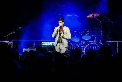 Mr Goodnite performs onstage at The Boiler Shop in Newcastle on 19.09.17