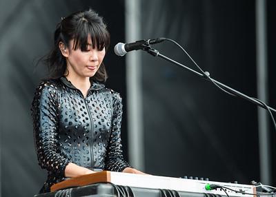 St Vincent perform at Outside Lands Music Festival