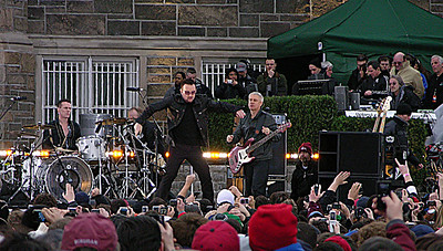 On this day, Bono reminded me of Southside Johnny.