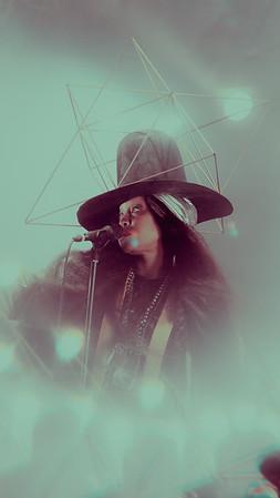 Erykah Badu at the Richmond Jazz Festival
