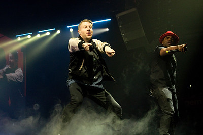 Macklemore & Ryan Lewis, Motorpoint Arena Nottingham, 24-04-16. Photo by Laura Patterson. Must credit on use.