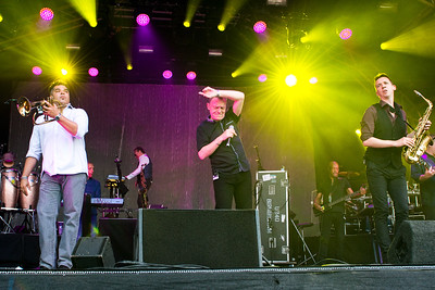 UB40, Splendour, Nottingham, 23-07-16. Photo by Laura Patterson. Must credit on use.
