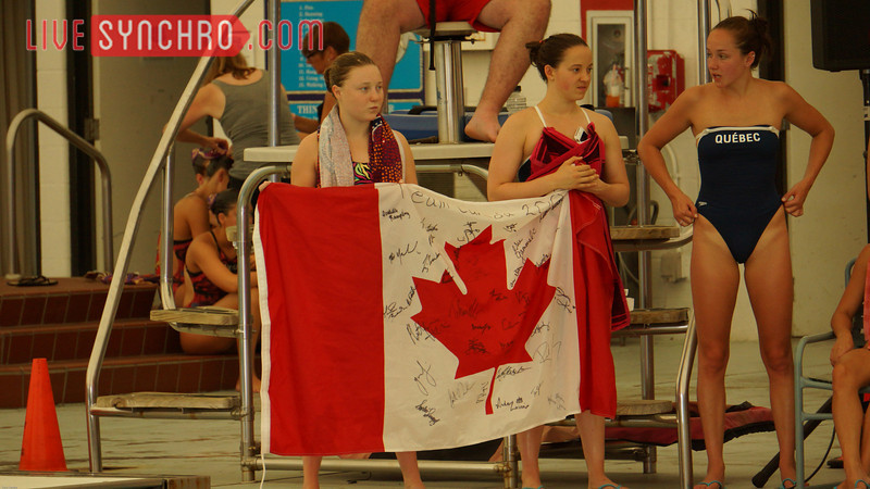 Canadian Flag - Solo Finalist at 2013 US Open in Irving, Texas