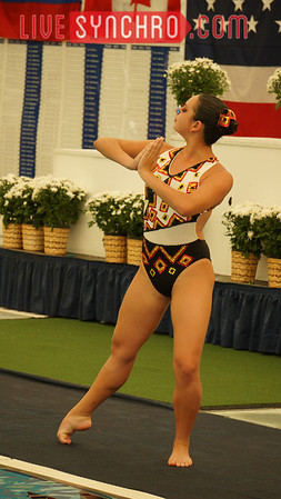 Valeria Bermudez - Solo Finalist at 2013 US Open in Irving, Texas