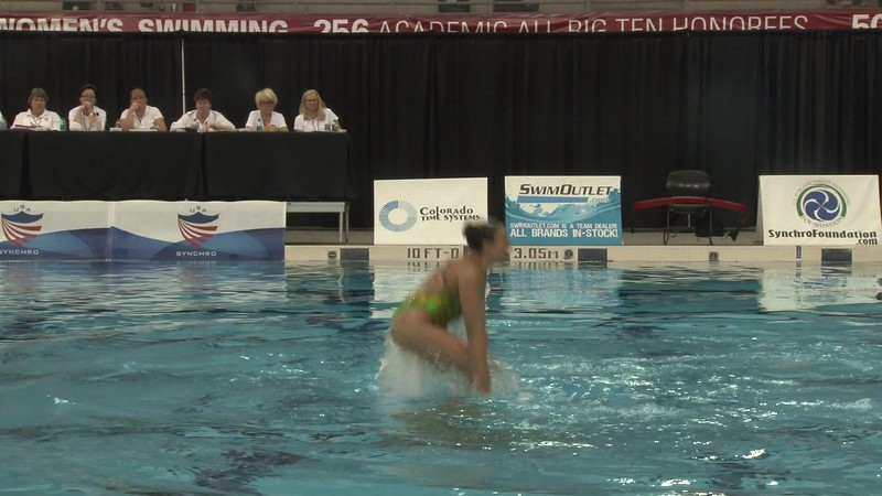 2017 U.S. Collegiate Championship | USA Synchro | VIDEO ARCHIVE